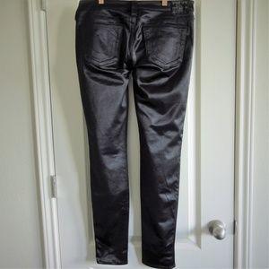 True Religion Jeans - True Religion Stella Black Shimmery Pants